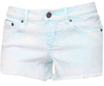 Five Pocket Acid Wash Shorts
