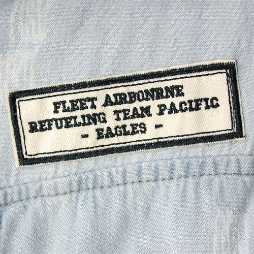Eagles Patch Denim Vest
