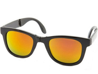 Foldable Mirror Sunglasses