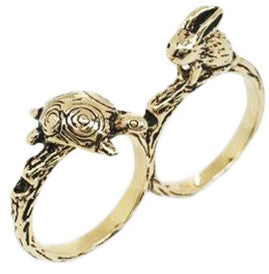 Tortoise And The Hare Ring
