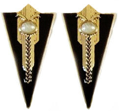 Detailed Arrow Earrings