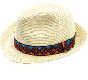 Natural Aztec Fedora