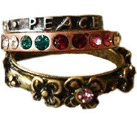 Peace Ring Set