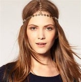 Three Strand Coin Headband