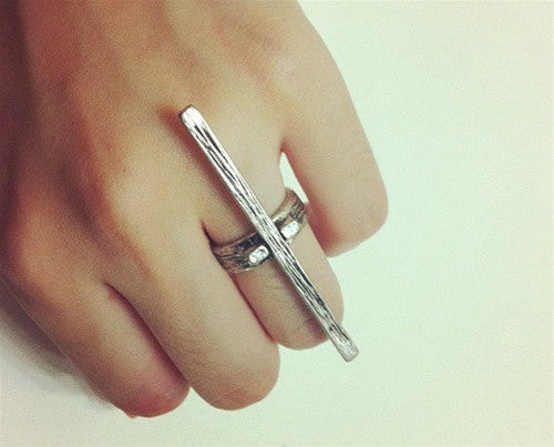 Statement Cross Ring