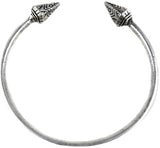 Etched Rivet Spike Bangle