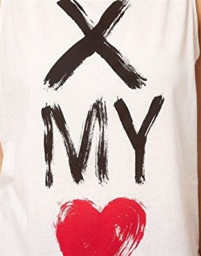 Cross My Heart Tank