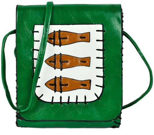 Tribal Fish Purse