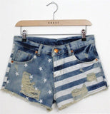 Blues Hues Denim Shorts