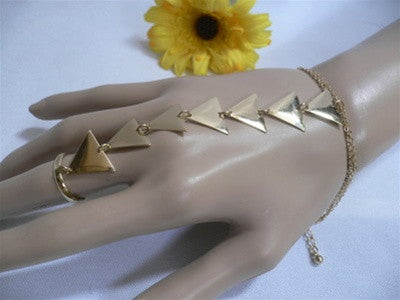 Triangle Row Slave Bracelet