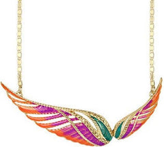 Free Spirited Wing Necklace