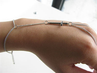 Statement Cross Slave Bracelet
