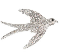 Sparrow Brooch