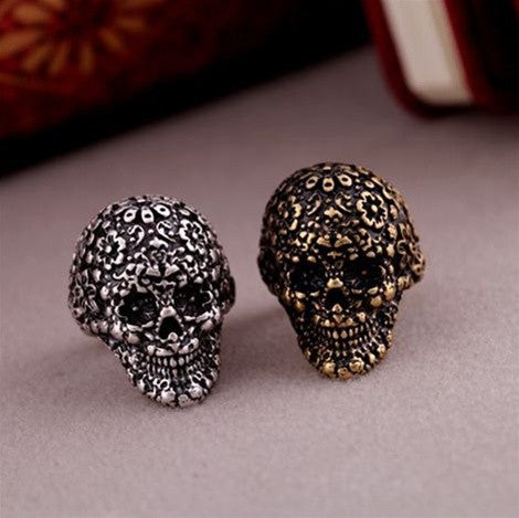 Roko Skull Head Ring