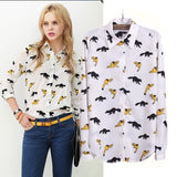 Fox Blouse