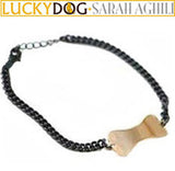 Tonal Dog Bone Bracelet