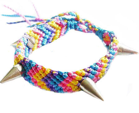 Spiked Friendship Bracelets