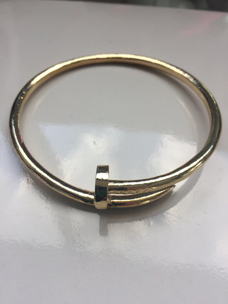 Hinge Screw Cuff Bangle