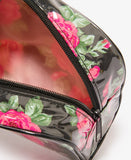 Rose Cosmetic Bag