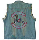 Retro Riders Denim Vest