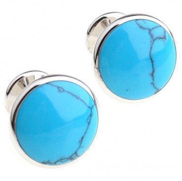 Turquoise Shell Cufflinks