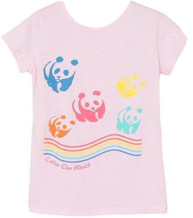 Color Our World Panda Tee