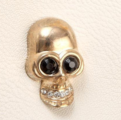 Skull Head Statement Clutch