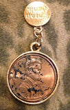 Antique Penny Charm