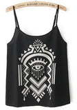 Geometric Aztec Tank Top
