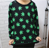 Hemp Leaf Sweater