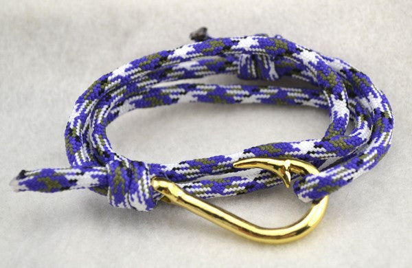 Survival Hook Wrap Bracelet