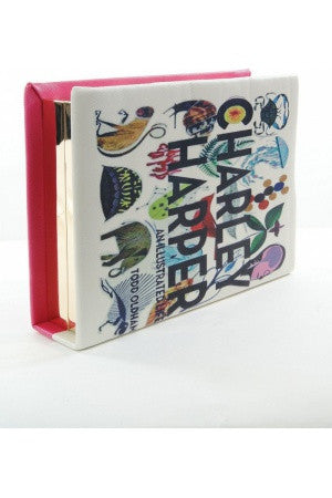 Illustrated Book Clutch