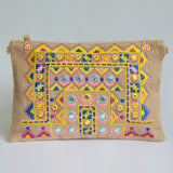 Woven Ethnic Clutch