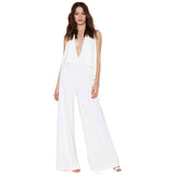V Neck Jumpsuit