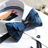 Feather Bow Tie