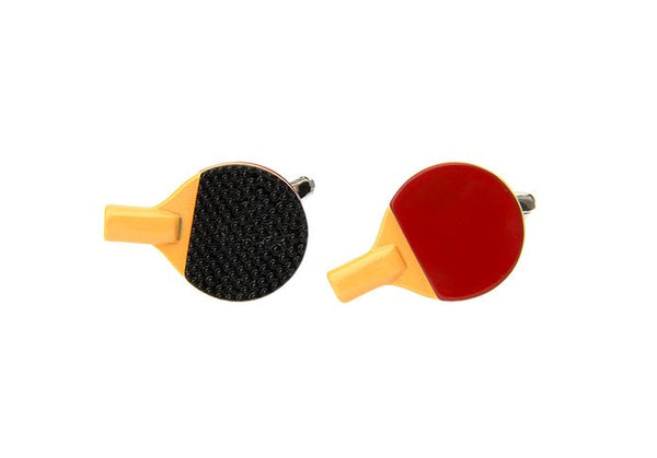 Ping Pong Paddle Cufflinks