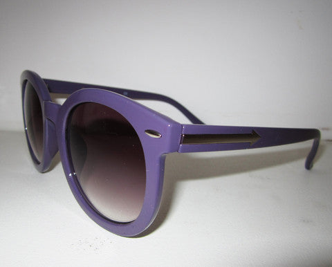 Solid Arrow Side Sunglasses