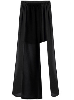 Long Asymmetric Skirt