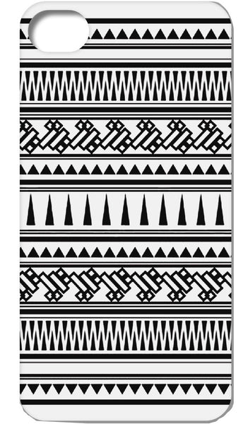 Contrast Aztec iphone Case
