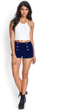 Knit Nautical Shorts