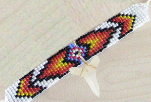 Shark Tooth Loom Bracelet