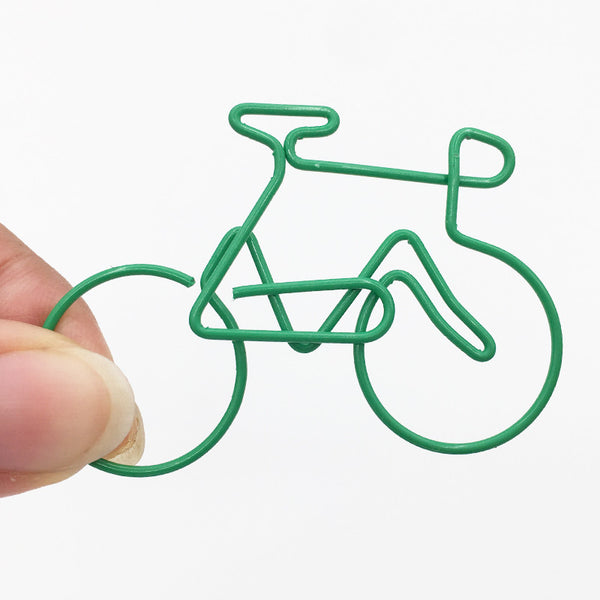 Bicycle Paper Clip Set