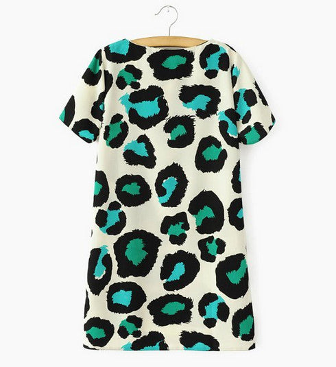 Leopard Shift Tunic