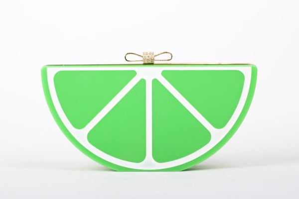 Lime Slice Clutch