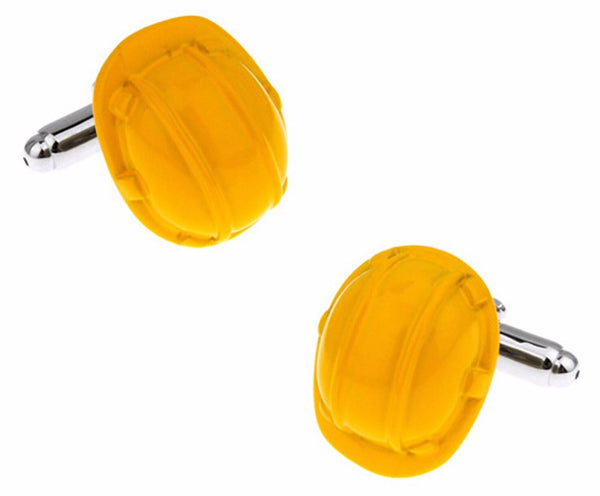 Hard Hat Cufflinks