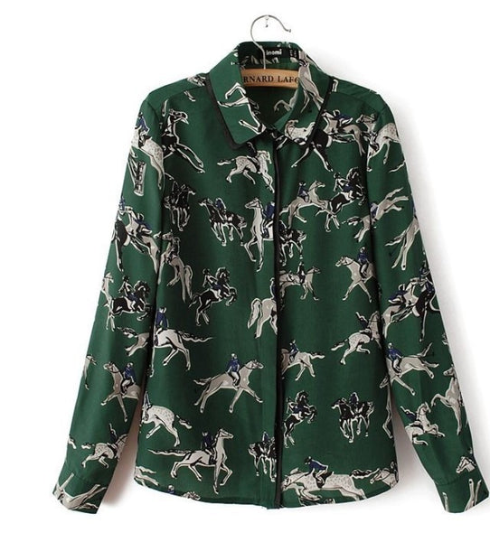 Polo Field Blouse