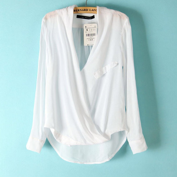 Easy Zoe Pocket Blouse