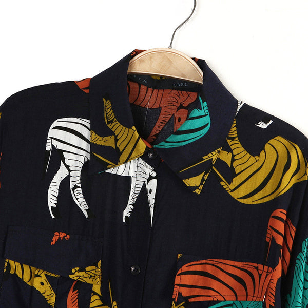 Zebra Craze Blouse