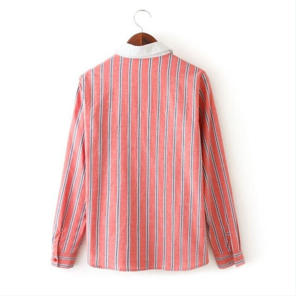 Striped Longline Blouse