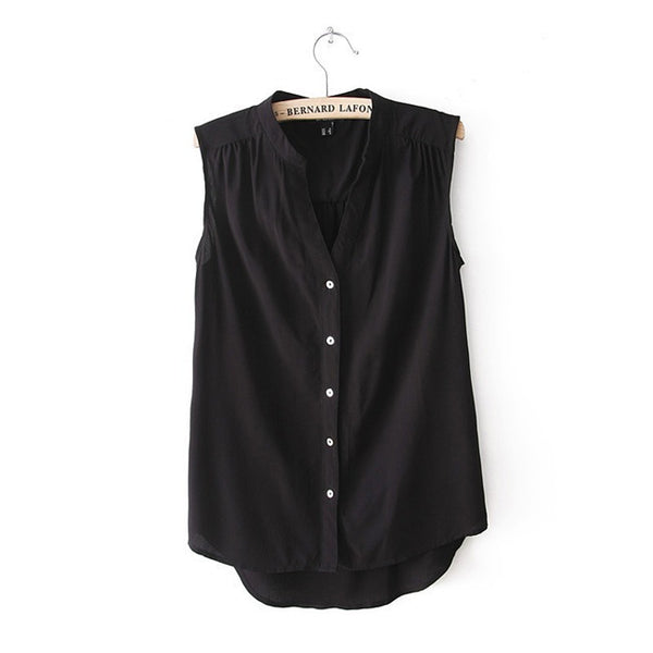 Sleeveless Stacey Blouse